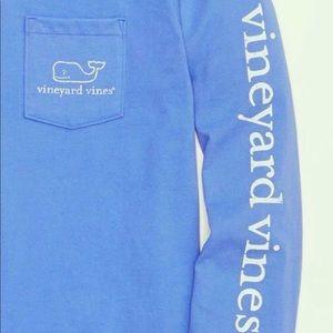 Teal blue Vineyard Vines long sleeve